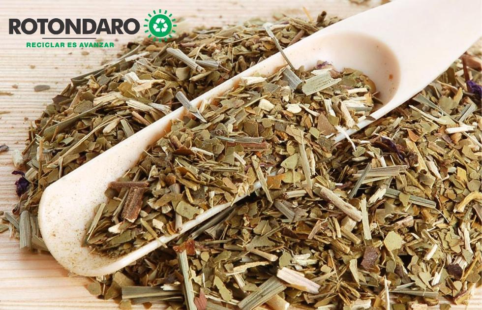 Se recicla la yerba utilizada en la Intendencia de Montevideo